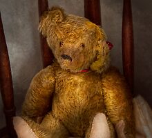 Toy - Teddy Bear - My Teddy Bear  by Mike  Savad