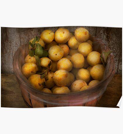 Food - Apples - Golden apples Poster