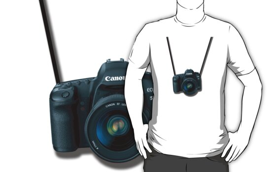 Canon 5D MKII DSLR Camera - Around Neck by CalumCJL