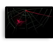 this is titled 'blood web' Canvas Print