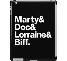 Back to the Future II Marty & Doc iPad Case/Skin