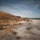 Kennack sands Cornwall  by eddiej