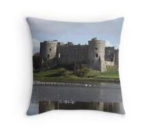 Castle view 2  [related to  4  ]         tote Throw Pillow