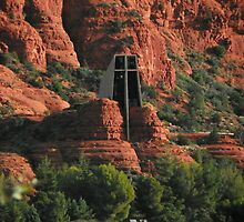 Chapel of the Holy Cross by David  Hughes