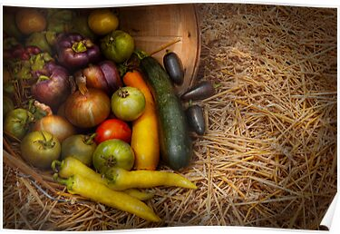 Food - Vegetables - Very early harvest by Mike  Savad