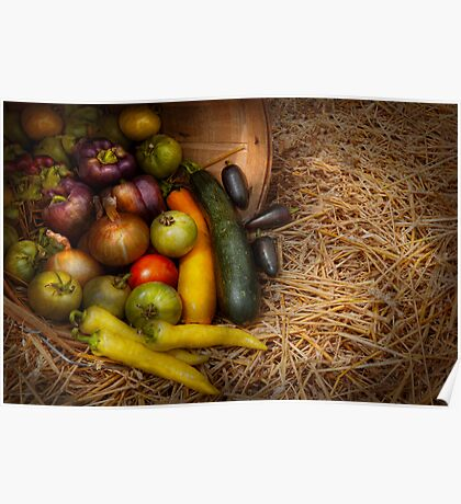 Food - Vegetables - Very early harvest Poster