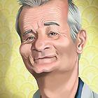 Bill Murray by Tom Bradnam
