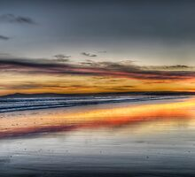 East Beach Sunrise by Fraser Ross