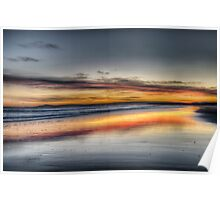 East Beach Sunrise Poster