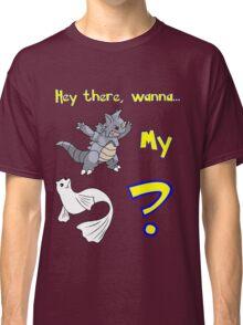 Pokemon Pickup Line Classic T-Shirt