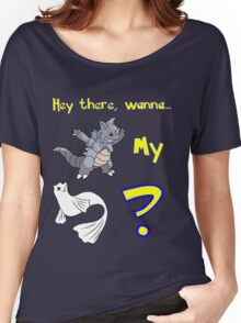 Pokemon Pickup Line Women's Relaxed Fit T-Shirt