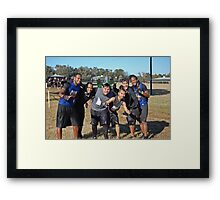 It's still early Framed Print