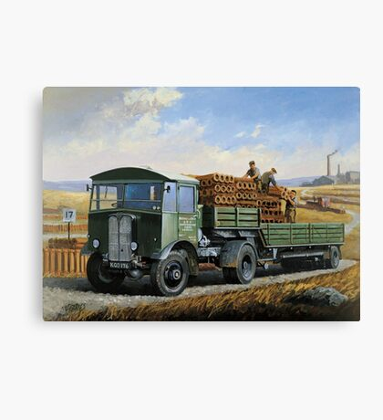 Post Office Engineering AEC. Canvas Print