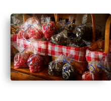 Food - Candy - Licorice Bites Canvas Print