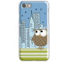 City Owl iPhone Case iPhone Case/Skin