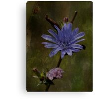 Flowers with Texture Canvas Print