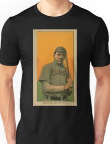 Benjamin K Edwards Collection Wildfire Schulte Chicago Cubs baseball card portrait 001 Unisex T-Shirt