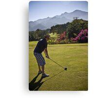 Golfing in Puerto Vallarta, Mexico Canvas Print