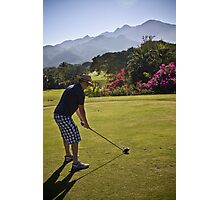 Golfing in Puerto Vallarta, Mexico Photographic Print