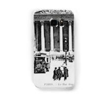 Vintage antique Paris Rue Royale Madeleine church Samsung Galaxy Case/Skin