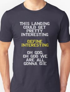 Define Interesting T-Shirt