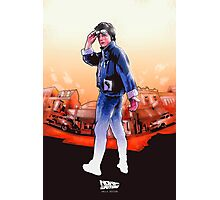 NOW IS THE FUTURE - Marty Mcfly Photographic Print