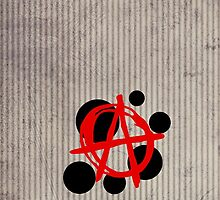 Anarchy Dots iPhone & iPod Case by David & Kristine Masterson