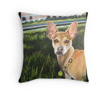 """94. """"Rusty Rees.""""  Throw Pillow"""