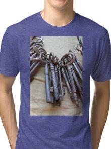 old keys Tri-blend T-Shirt