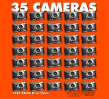 35 Cameras - diax zero by dennis william gaylor