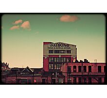 parking clouds Photographic Print