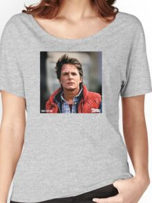NOW IS THE FUTURE - Marty Mcfly  Women's Relaxed Fit T-Shirt