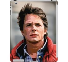 NOW IS THE FUTURE - Marty Mcfly  iPad Case/Skin