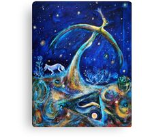 The Fifth Day of Creation Canvas Print