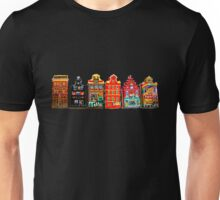 Amsterdam city highlights Unisex T-Shirt