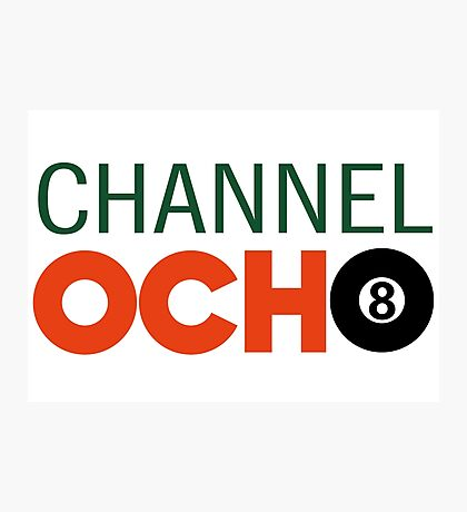 Channel Ocho Photographic Print