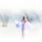 Winter angel by Olga
