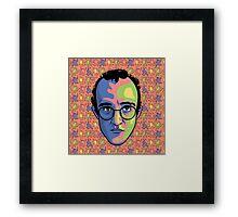 Haring Framed Print