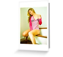 Tina-Pink-2 Greeting Card