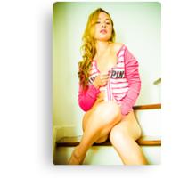 Tina-Pink-3 Canvas Print