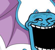 Golbats are trolls... Sticker