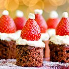 strawberry santas! by Michelle McMahon