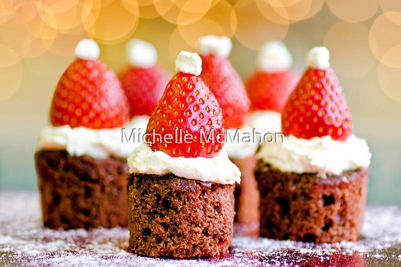 strawberry santas! by Michelle McMahon
