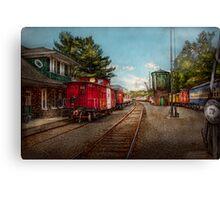 Train - Caboose - Tickets Please Canvas Print