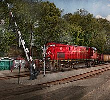 Train - Diesel - Look out for the Locomotive  by Mike  Savad