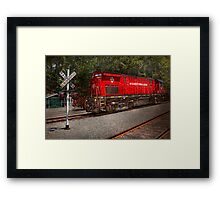 Train - Diesel - Morristown Erie  Framed Print