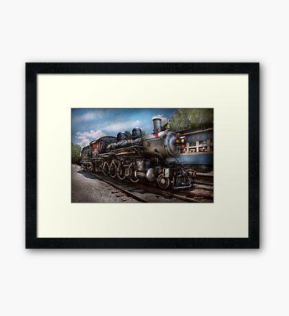 Train - Steam - 385 Fully restored  Framed Print