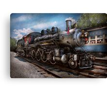 Train - Steam - 385 Fully restored  Canvas Print