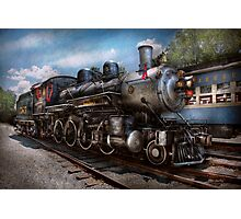 Train - Steam - 385 Fully restored  Photographic Print