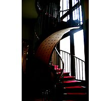 Red Carpet Stair Photographic Print